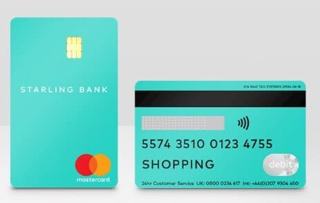 Starling Bank 的 Connected Card