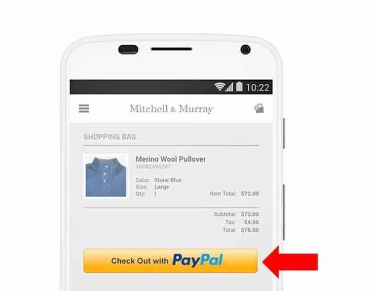 網站上可提供Paypal國際付費渠道