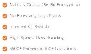 Ivacy VPN 的特色