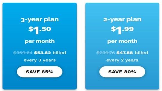 Speedify的付費方案