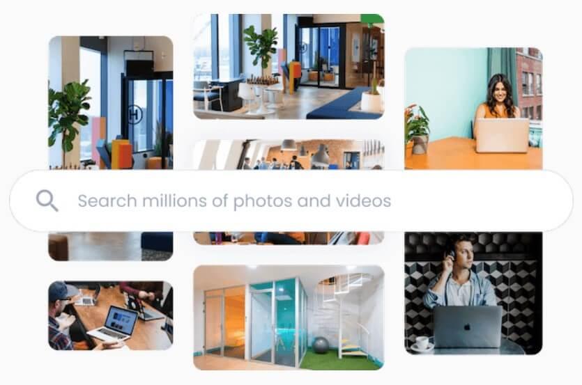 Lumen5 提供上百萬中的媒體素材
