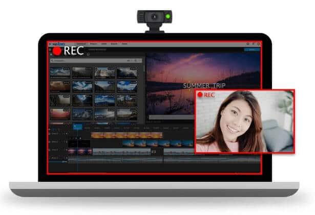 WeVideo 可錄製熒幕