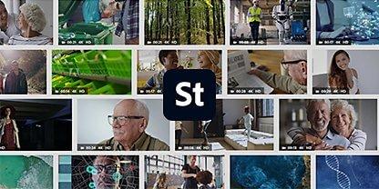 Adobe Stock 提供多種素材