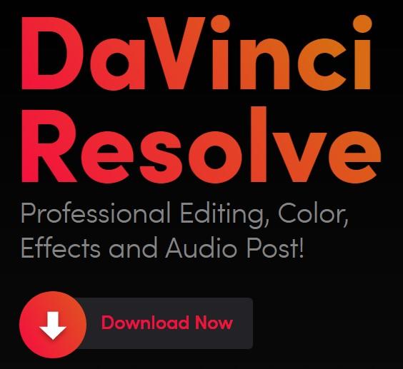下載Davince Resolve