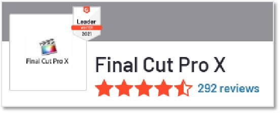 G2 評價 Final Cut Pro