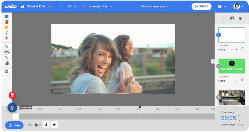 Wideo 可插入自己的影片