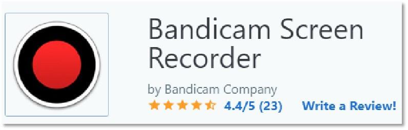 BandiCam的Capterra 評價