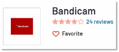 BandiCam的G2 評價