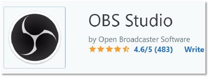 OBS Studio 的Capterra 評價