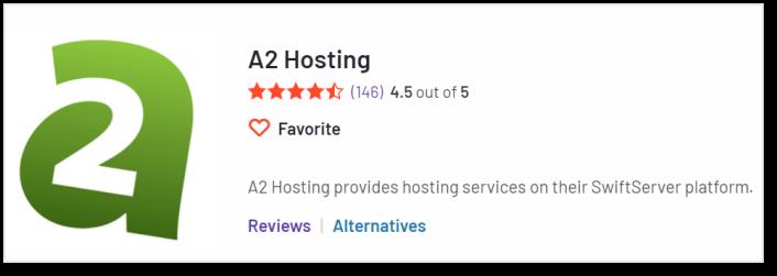 A2 Hosting 在G2上的評價