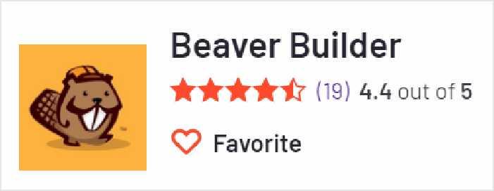 Beaver Builder 在G2上的評價