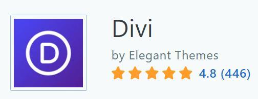 Divi Builder 在Capterra 上的評價