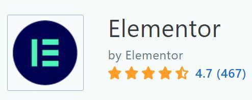 Elementor 在Capterra 上的評價
