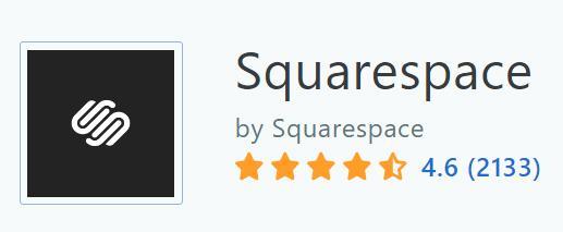 Squarespace 在Capterra上的評價