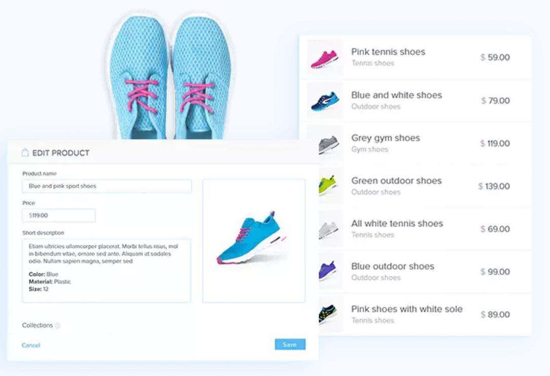 Webnode可製作線上商店