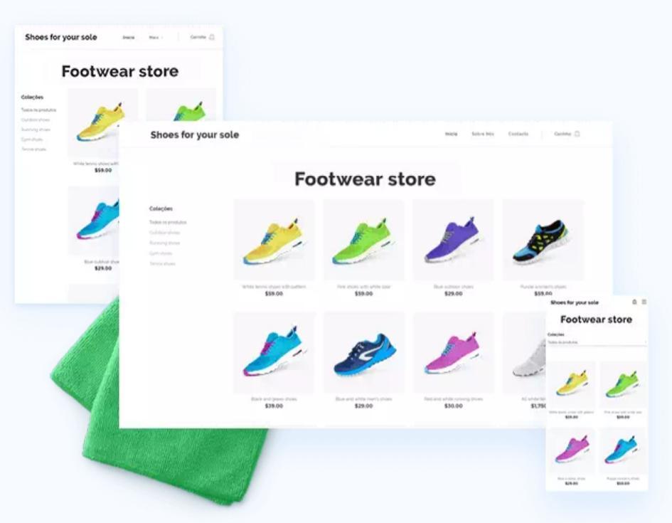 Webnode的網頁製作適用於各種裝置介面