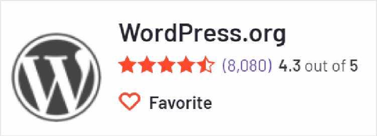 Wordpress 在G2上的評價